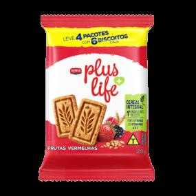 Adria Plus Life - Biscoito Integral Frutas Vermelhas