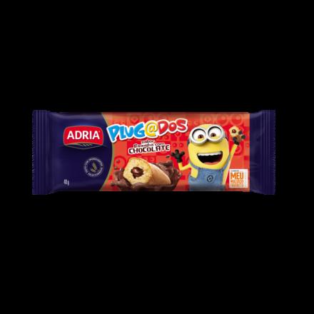 Plugados Bolo Baunilha com Chocolate