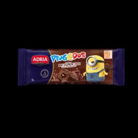 Plugados Bolo Brigadeiro com Chocolate