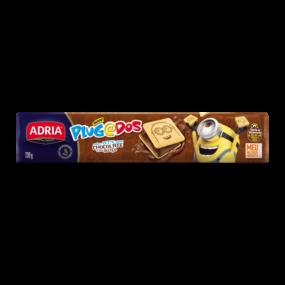 Plugados Recheado Quadrado Chocolate