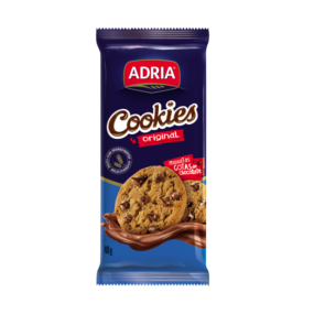 Cookie Baunilha com gotas de Chocolate