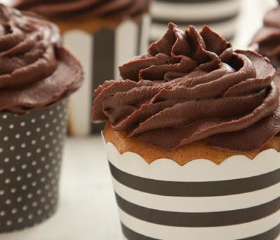 Cupcake de Limão e Chocolate