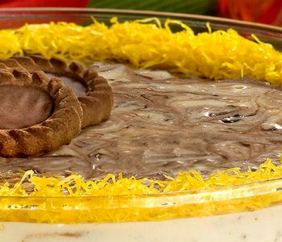 Mousse Mesclado de Chocolate com Pistache Adria