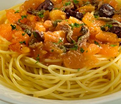 Espaguete Alla Putanesca Adria