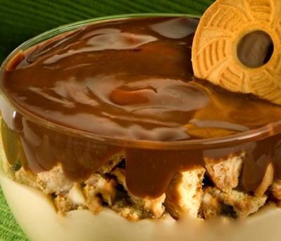 Taça Cremosa de Limão com Chocolate