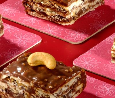 Tijolinhos Crocantes de Chocolate