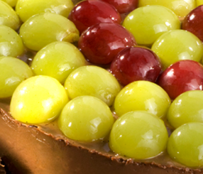 Torta de Uva com Chocolate Adria