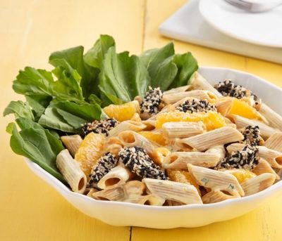 Salada Fria de Pena com Peru e Queijo de Cabra